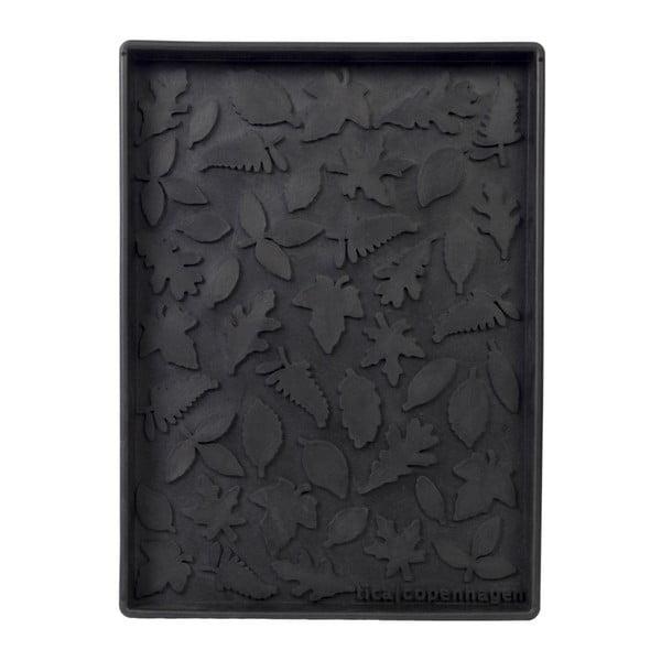 Tăviță din cauciuc pentru încălțăminte Tica copenhagen Leafes, 28 x 38 cm