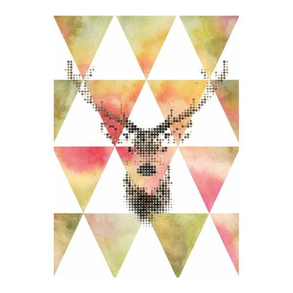 Plakát Little Deer, A3