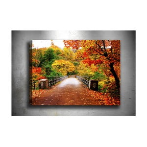 Obraz Tablo Center Autumn Bridge, 70 x 50 cm