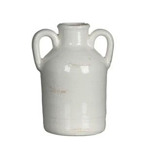 Keramická váza Sil White, 14x7.5 cm