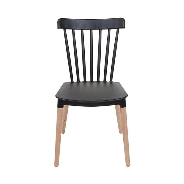 Černá židle Santiago Pons Rin