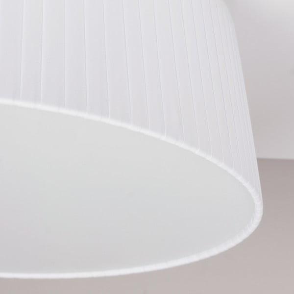 Bílé stropní svítidlo Bulb Attack Dos Plisado,⌀36cm
