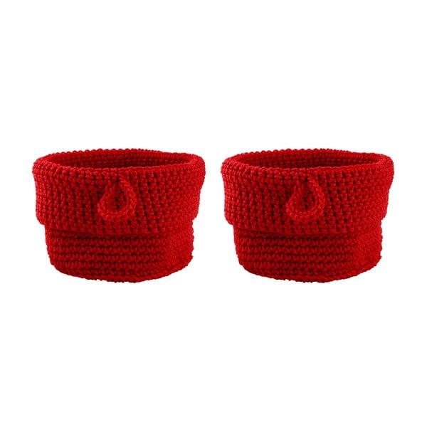 Sada 2 košíků Red, 13 cm