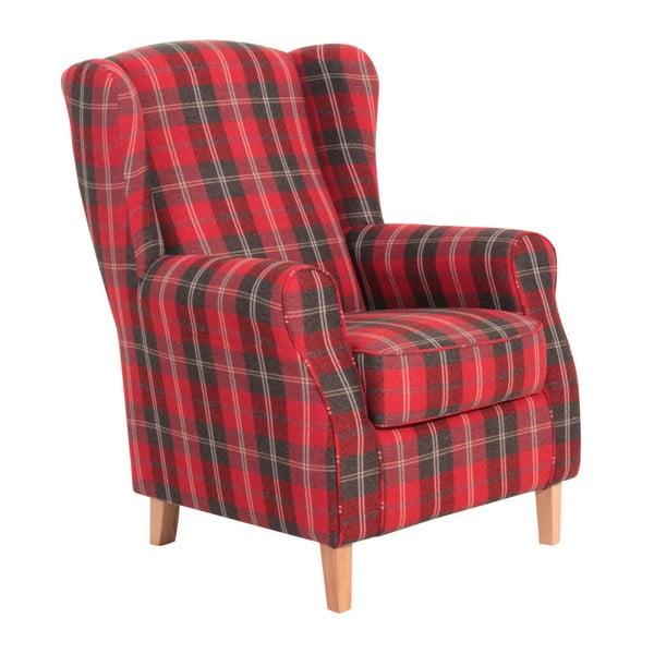 Lorris Vintage Red füles fotel - Max Winzer