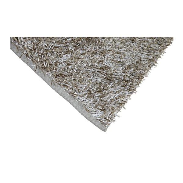 Béžový koberec Webtappeti Shaggy, 120x170cm