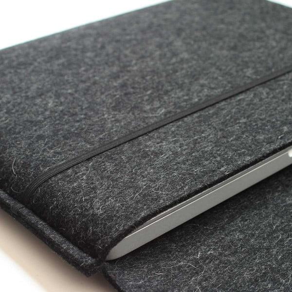 """Plstěný obal na MacBook PRO 17"""", marble grey"""