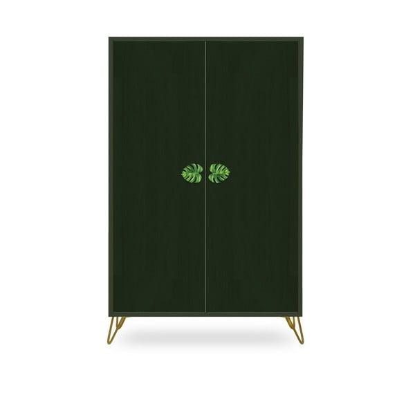 Zelená skriňa z borovicového dreva Velvet Atelier