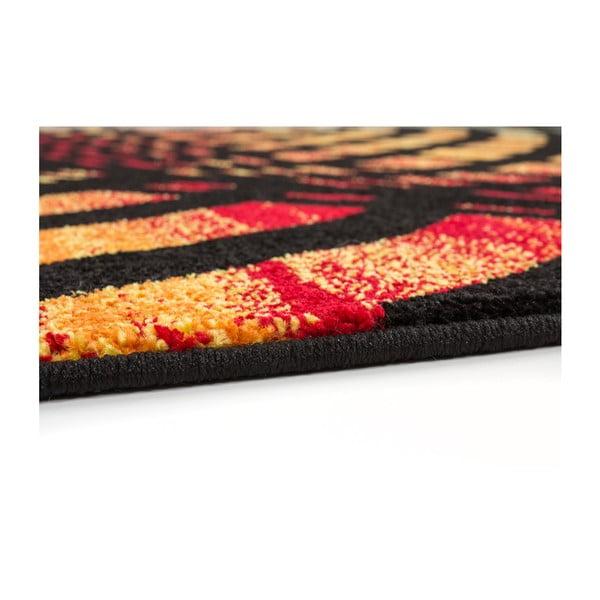 Koberec Rush Black, 80x150 cm