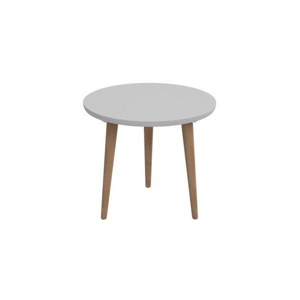 Šedý stůl D2 Bergen, 60 cm