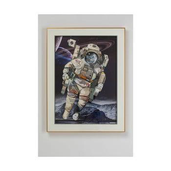 Tablou în ramă Kare Design Astronaut, 100 x 75 cm