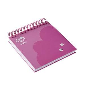 Carnețel TINC Mallo, roz