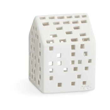 Sfeșnic din ceramică Kähler Design Urbania Lighthouse Classical, alb imagine