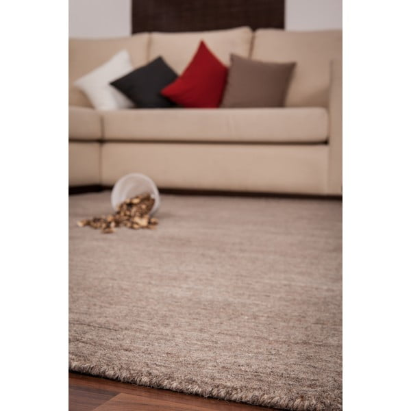Vlněný koberec Millennium 628 Brown, 80x150 cm