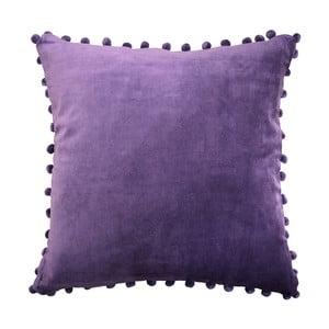 Fialový polštář Ragged Rose Arabella Velvet