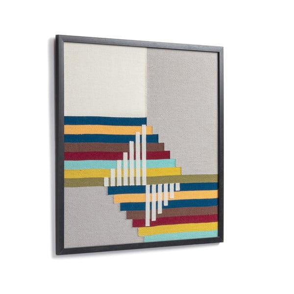 Obraz w ramie La Forma Amary, 45x45 cm