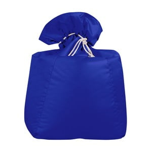 Modrý sedací vak Sit and Chill Siargao