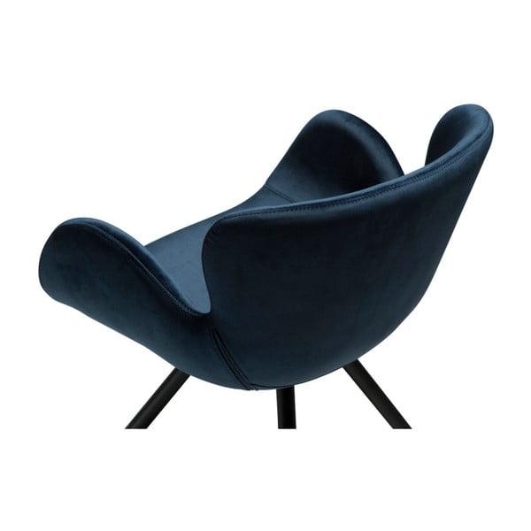 Modrá židle DAN-FORM Denmark Gaia