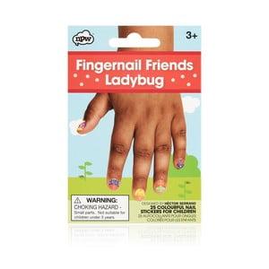 Sada nálepek na nehty npw™ Ladybugs