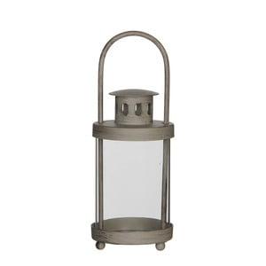 Felinar lumânare Mica Lanthern, 15,5 x 8 cm, gri
