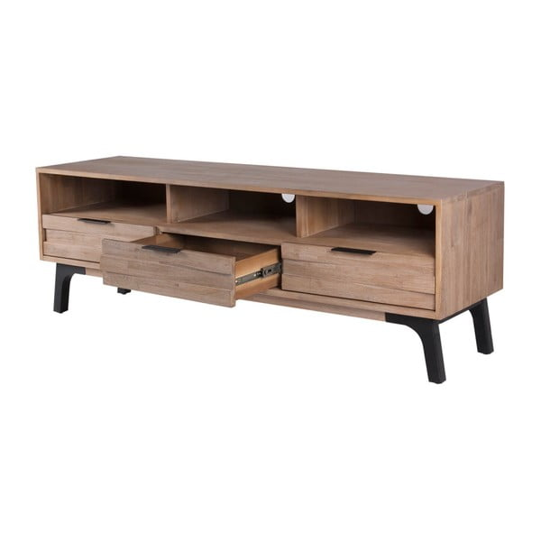 Comodă TV din lemn de salcâm Sømcasa Amsterdam