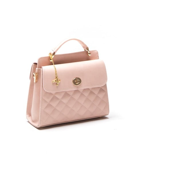 Kabelka Quilted Rosa