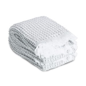 Ručník Whyte 65 x 100 cm, bílý/šedý