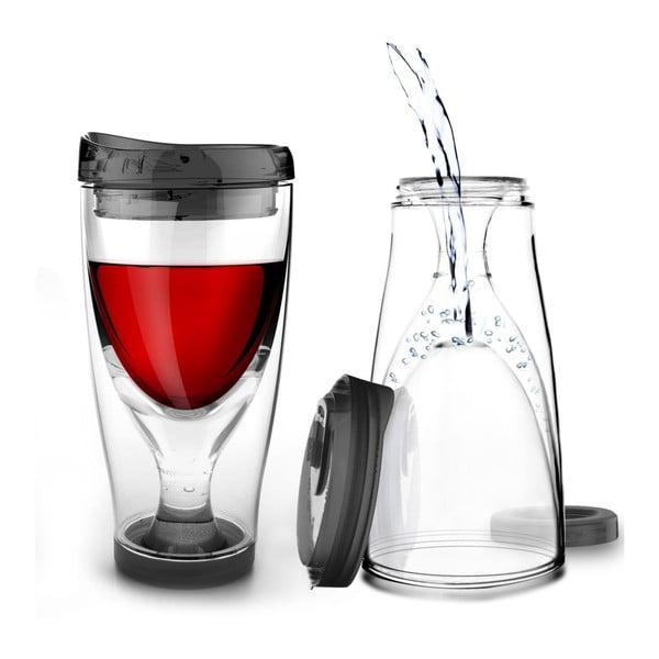 Termoska Ice Vino 2GO, černá