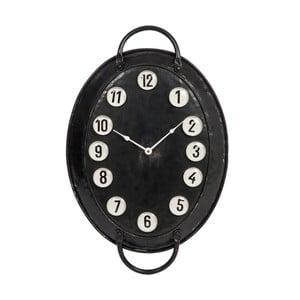 Nástěnné hodiny Tray Metal, 57 cm