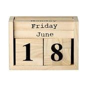 Calendar din lemn Bloomingville Calendar