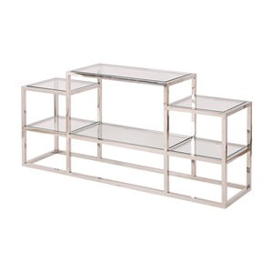 Konzolový stolek ve stříbrné barvě Artelore Alvar