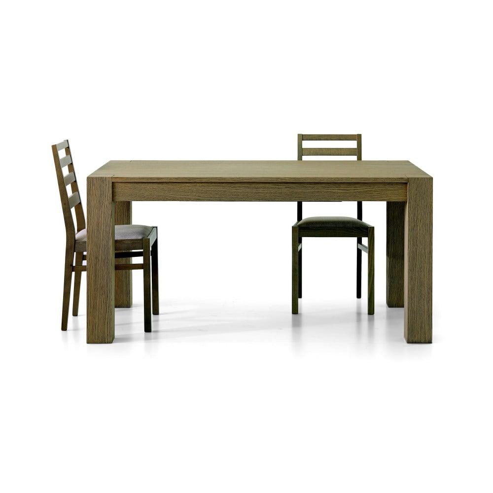 Rozkládací jídelní stůl z dubového dřeva Castagnetti Dinin, 160 cm