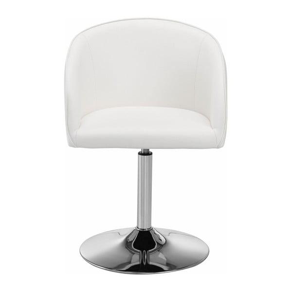 Zestaw 2 białych krzeseł obrotowych Støraa Willy