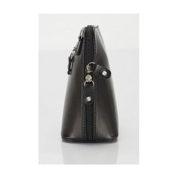 Kožená kabelka Giorgio Costa 15027 Black