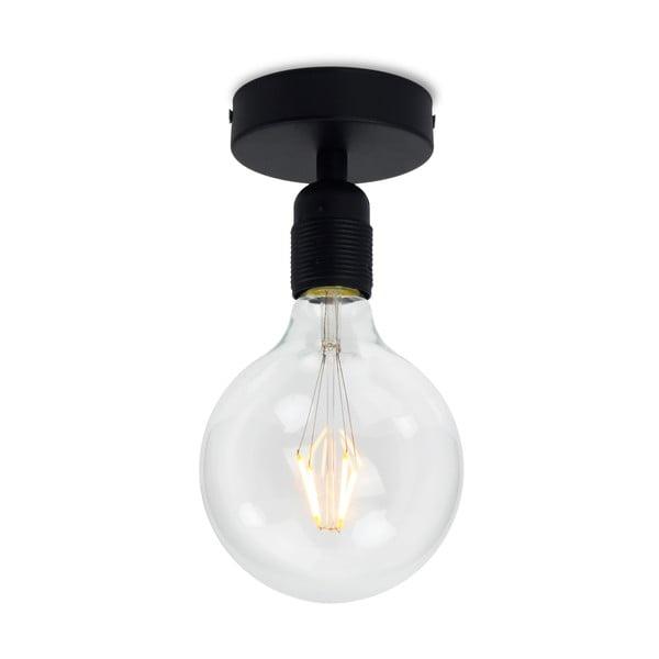 Czarna lampa sufitowa Bulb Attack Uno Basic