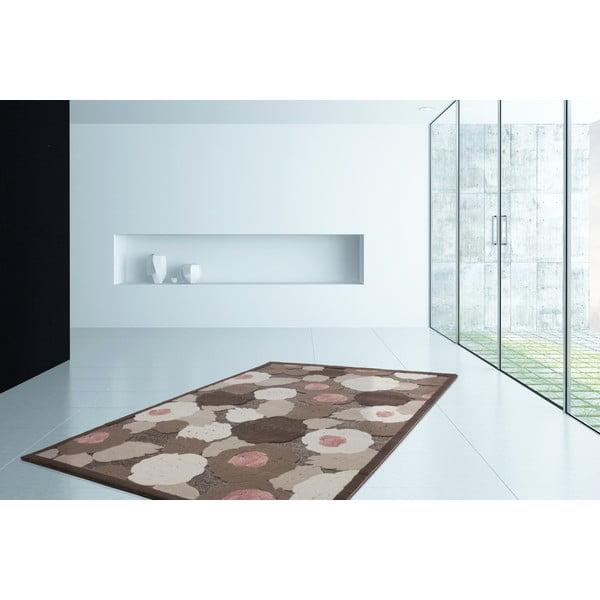 Koberec Hypnosis 515 Brown, 80x150 cm