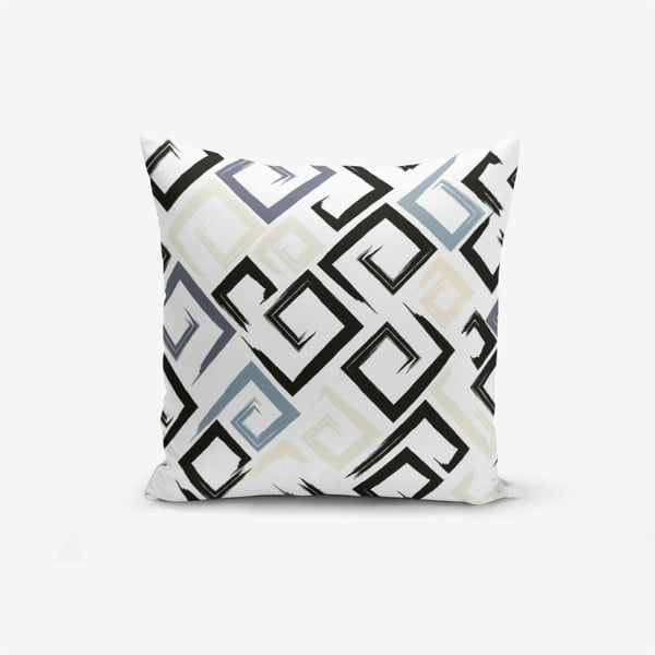 Față de pernă Minimalist Cushion Covers Geometric Model, 45 x 45 cm