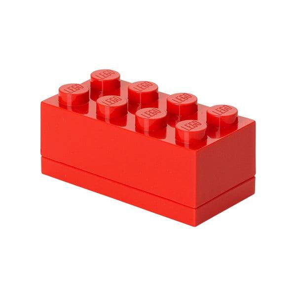 Cutie depozitare LEGO® Mini Box, roșu