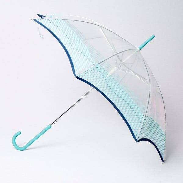 Deštník Alvarez Vichy Transparent Blue Aqua