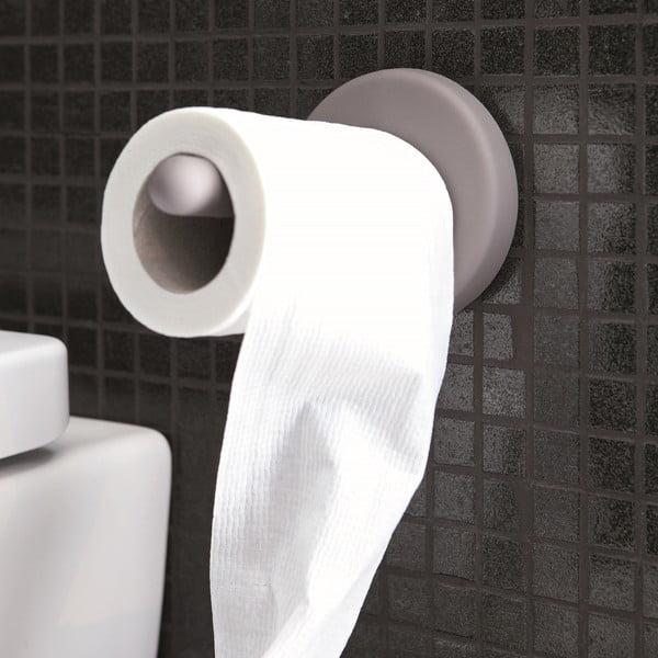 Samodržící držák na toaletní papír Portaro, světle šedý