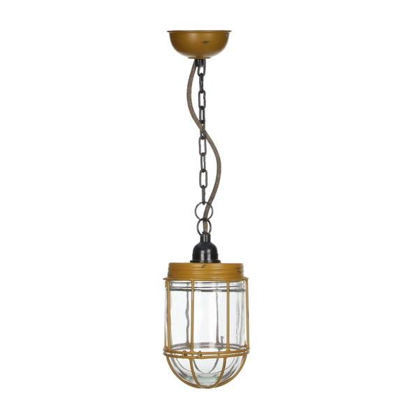 Stropní světlo Palma Ochre, 18x12 cm