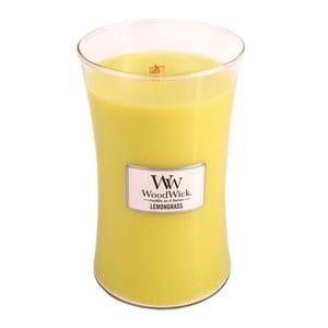 Lumânare parfumată WoodWick Iarbă de lămâie, 623 g, 130 ore