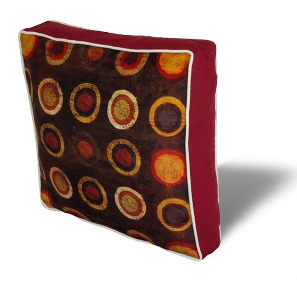 Pernă pentru scaun Gravel Retro, 42x42cm,cuumplutură
