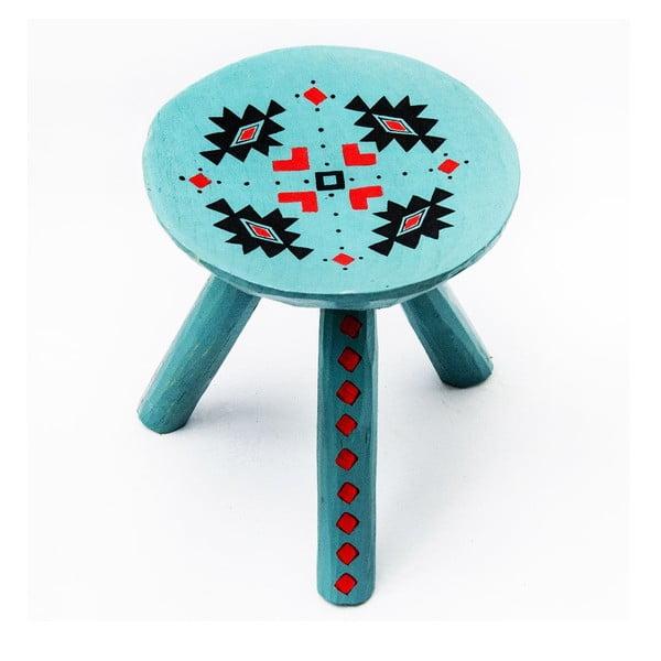 Ručně malovaná stolička Sadova, 28 cm