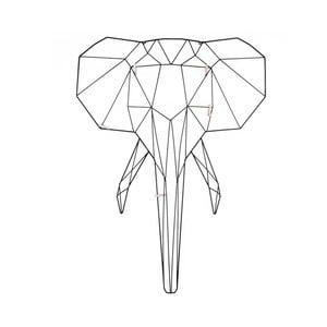 Nástěnný vešák ve tvaru slona PT LIVING