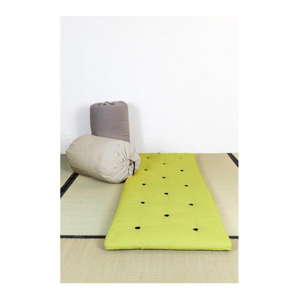 Futon/postel pro návštěvy Karup Bed In a Bag Pistacie