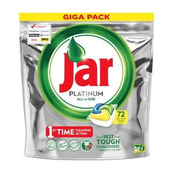 Detergent tip capsule pentru mașina de spălat vase Jar Platinum, 72 buc. imagine