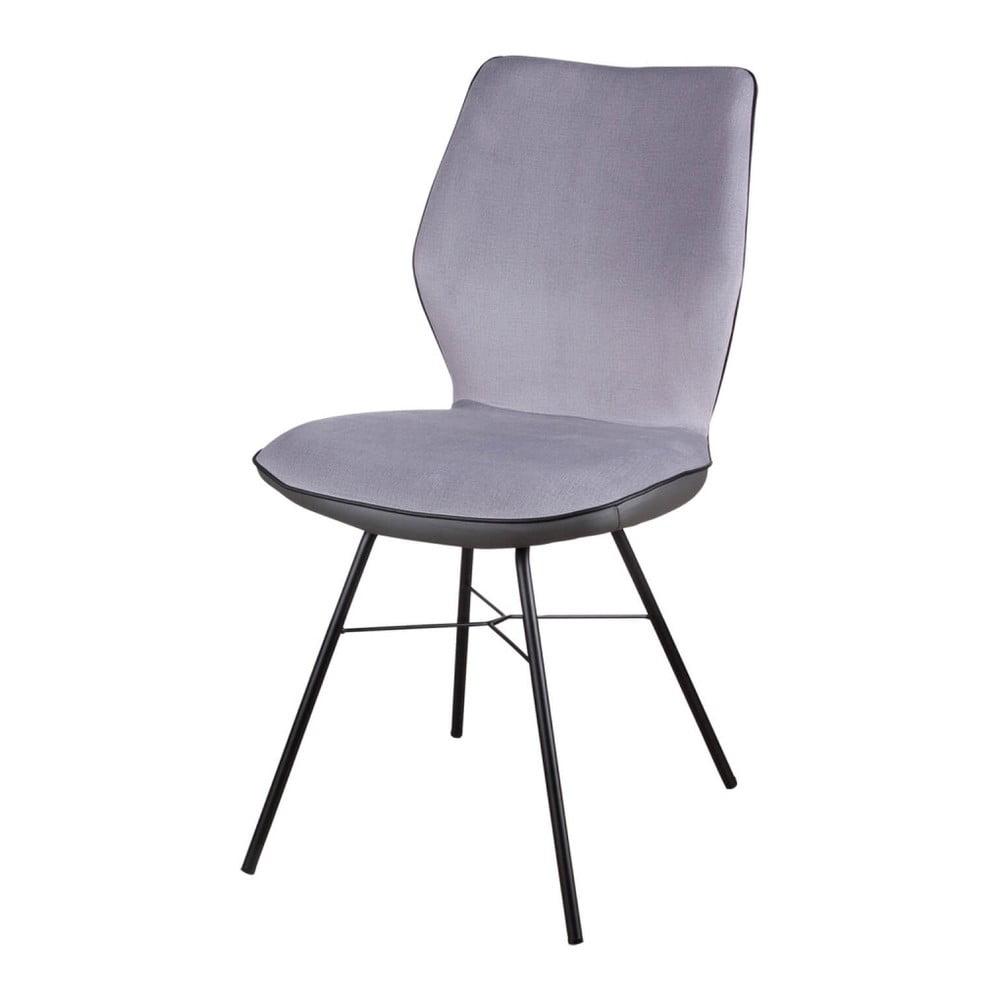 Sada 2 šedých židlí sømcasa Erika