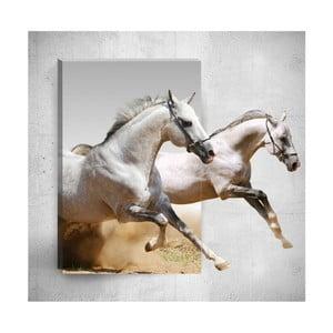 Nástěnný 3D obraz Mosticx Horses, 40 x 60 cm