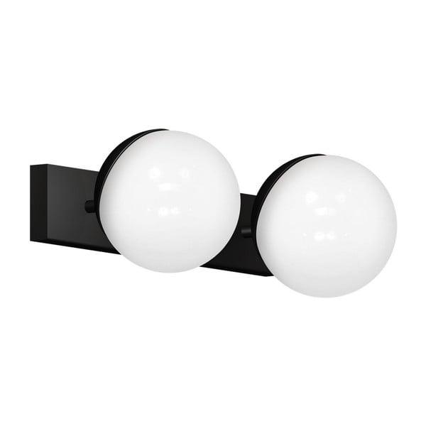 Aplică perete Sphere Dos, negru