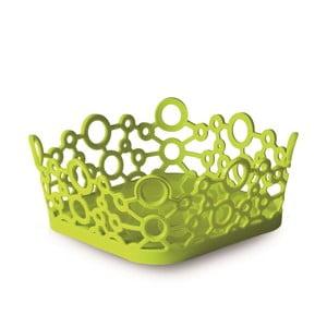 Zelený hranatý košík ForMe